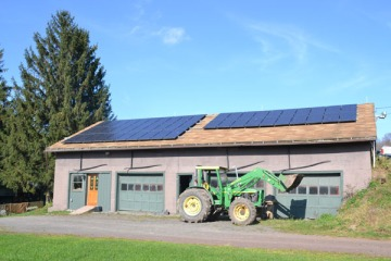 Apple Pond Farm's Solar Electric System