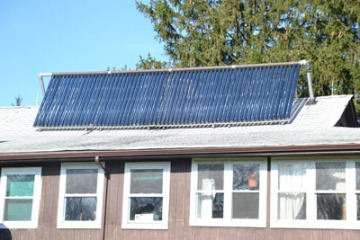 Apple Pond Farm's Solar Thermal System